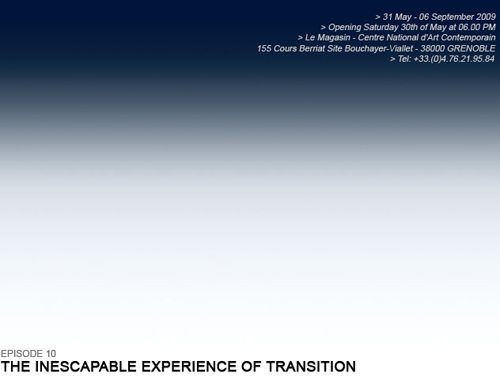 The Inescapable Experience of Transition